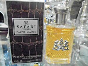 SAFARI for men RALPH LAUREN 75ML edt spray RARE VINTAGE PERFUME