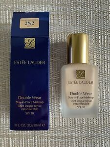 Estee Lauder Double Wear Stay In Place Make Up SPF 10 2N2 Buff FULL SIZE 30ml