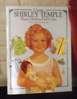 Classic Shirley Temple Paper Dolls in Full Color 1986 NEW
