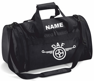 PERSONALIZED DAF TRUCKERS BAG/HOLDALL
