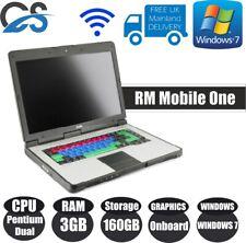 "RM Mobile One 15.6"" Computadora Portátil Intel Pentium Dual 3GB Ram 160GB HDD Windows 7 Pro"