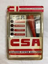 Vintage CSA Charging System Analyzer Battery Tester Alternator Regulator Test
