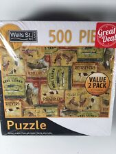 500 Piece Puzzle 2Pac Outdoorsman And Billiard Balls