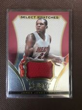 NBA Jersey Card James Jones Panini Select 13-14