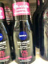 Nivea MicellAir skin breathe expert micellar water 0% product residue waterproof