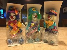 World Of Clowns Design Impressions Porcelain Bendable Standing Clowns (3)