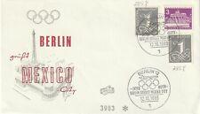 1968 Germany cover Berlin Say Hello Mexico (olympic flight)