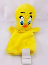 """Tweety Bird Plush Hand Puppet 12"""" 1971 Warner Bros Mighty Star"""