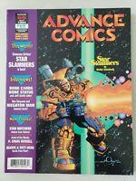 ADVANCE COMICS PREVIEW MAGAZINE #65 May 1994 WALT SIMONSON/MILESTONE FLIP COVER