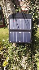 Solar Panel for charging PHONE LAPTOP IPAD caravans trekkers festivals days out