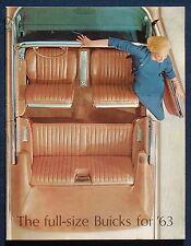 Prospekt brochure 1963 Buick Electra 225 * Wildcat * Le Sabre (USA)