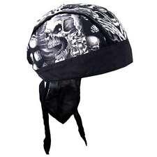 Zandana foulard Bandana Skull Assassin tete de mort moto custom Biker Skeleton