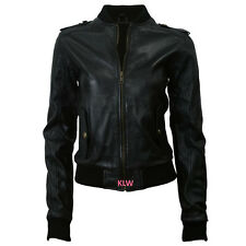 Leather Jackets Bomber Design New Soft Lambskin For Women Online Sale  EHS W04