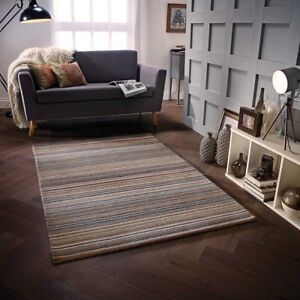 CARTER RUGS, NATURAL, BRAND NEW, 100% PURE WOOL, 6 x COLOURWAYS, FREE DELIVERY.