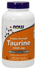 Taurine 1000 mg Now Foods 250 Caps