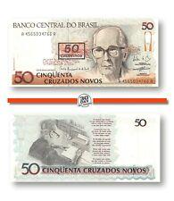Brazil 50 Cruzeiros 1990 Unc Pn 223 - Banknote24