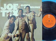 Joe Tex ORIG OZ LP Bumps & bruises EX '77 Epic ELPS3822 Funk Soul