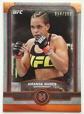 2019 Topps UFC Museum 54/159 Amanda Nunes Parallel Card