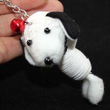Snoopy White Dog Voodoo Keychain Key Ring Toy Cartoon White Handmade HandCraft