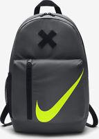Nike Kid's Elemental Sport / School Backpack Dark Grey/Black/Volt BA5405-021