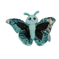 Adventure Planet Sequinimals Plush - BUTTERFLY (Sequin - Blue & Black/Silver)