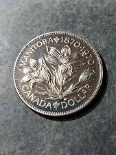 1970 Canada One Dollar Coin Manitoba Commemorative Proof-Like