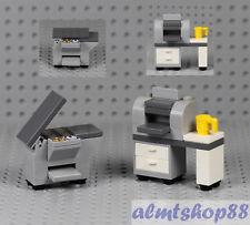 LEGO - Office Photocopier & Printer - Minifigure Desktop Computer Copier Town