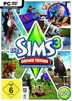Die Sims 3: Einfach tierisch - PC / Mac in Original Hülle ! mit DVD und Key