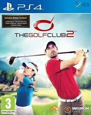 The Golf Club 2 & Bonus Content PS4 * NEW SEALED PAL *