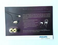 5 Pairs Philips Comply Memory Foam Tips In-Ear Headphones Noise Isolating Buds