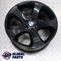"""BMW X5 E53 Rear Black Wheel Alloy Rim 19"""" Star Spoke 132 10J ET:45 6769876"""
