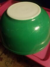 VINTAGE PYREX GREEN BOWL #403 PRIMARY NESTING MIXING