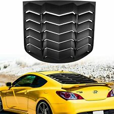Rear Window Louvers for Hyundai Genesis Coupe 2010 2011 2012 2013 2014 2015 2016