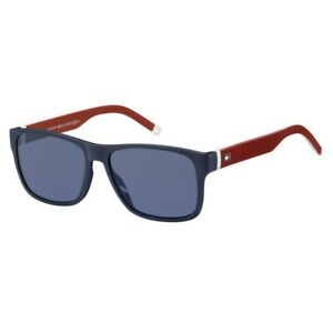 Sunglasses Tommy Hilfiger Th 1718/S 8RU 56-16-145 Unisex Blue Red Lenses A