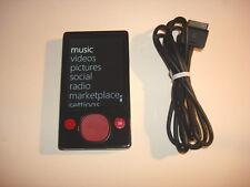MICROSOFT  ZUNE  CUStOM  BLACK/RED  120GB...NEW  HARD DRIVE...