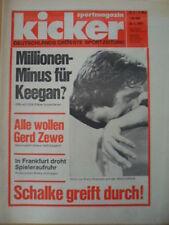 KICKER 9 - 25.1. 1979 Kevin Keegan Erwin Kremers Gerd Zewe-alle wollen ihn