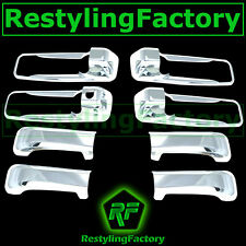 Triple Chrome Plated 4 Door Handle W/Keyhole Cover for 05-11 Jeep Grand Cherokee