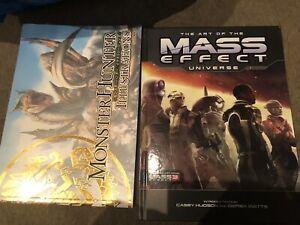 Monster Hunter And Mass Effect Art Books