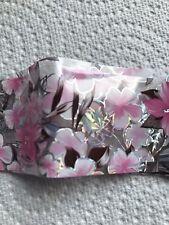 Pink Symphony Nail Art Transfer Foil Stickers Hign Quality