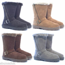 "Ella shoes ""Libby"" faux fur snow warm winter boot all UK sizes 3-8."