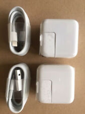 TWO SETs - 10  TEN Watt 2.1 AMP Wall Charger for iPad USB and 8 pin sync CABLE