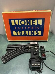 LIONEL O Guage No. 5133 Remote Switch - Left 1986 *Original Box *As Is