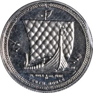 2016 Isle of Man Platinum Noble 1/10 Ounce 9995 Fine - Sealed - STOCK