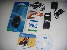 NOKIA 7110 ORIGINALE 1999 NO BRAND UNICO + BATTERIA NUOVA ACCESSORI COMPLETI