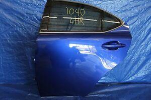 2008 08 LEXUS IS-F SEDAN OEM BLUE LH DRIVER REAR DOOR 2UR-GSE V8 XE20 #1040