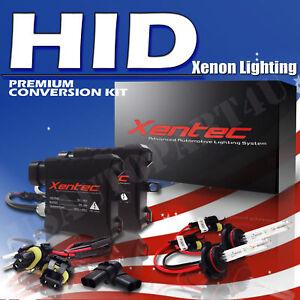 Headlight Fog Light HID Kit D2R 9005 White Dark Blue For 2001-2005 Lexus IS300