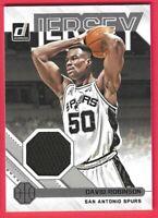 2020-21 Panini Donruss David Robinson Jersey Series Game used San Antonio Spurs