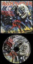 Iron Maiden Number Of The Beast Mini LP Sleeve USA CD vinyl replica