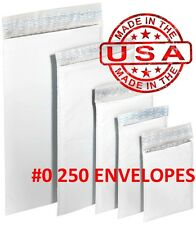 "250 #0 6x10 Poly Bubble Padded Envelopes Mailers Shipping Case 6""x10""- Free Ship"