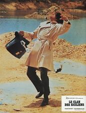 ALAIN DELON LE CLAN DES SICILIENS 1969 VINTAGE LOBBY CARD ORIGINAL #4